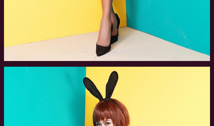 史黛丝-性感兔女郎套装